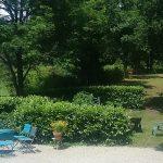 Gîte La Creuse the garden