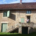 Gîte La Creuse entrance gite
