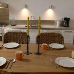 Gîte La Creuse cozy dining