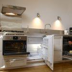 Gîte La Creuse modern kitchen