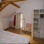 Gîte La Creuse garderobe-kast slaapkamer