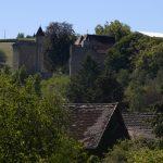 Gîte La Creuse uitzicht op het chateau van Couches
